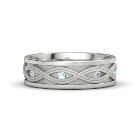 94 best Infinity Wedding Bands images on Pinterest Infinity