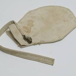 Locked Glove - White Canvas, circa 1910