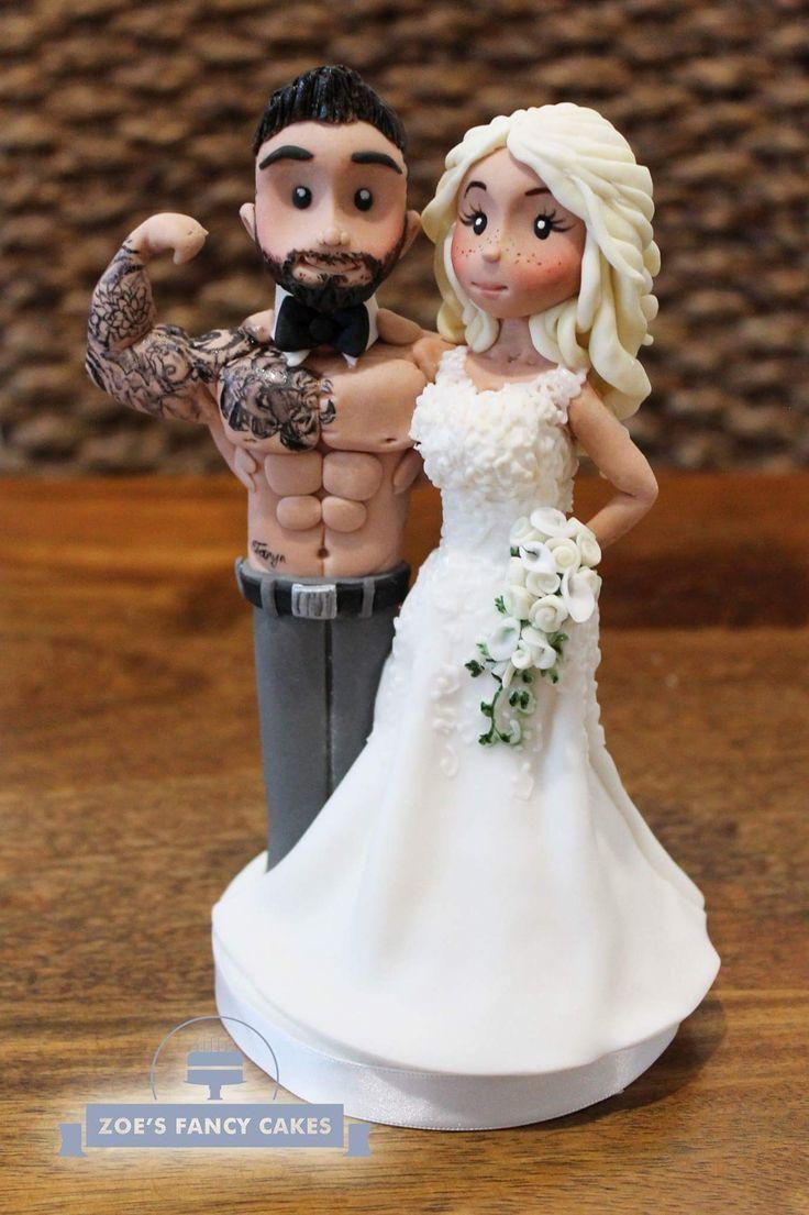 zoe fancy cake topper wedding