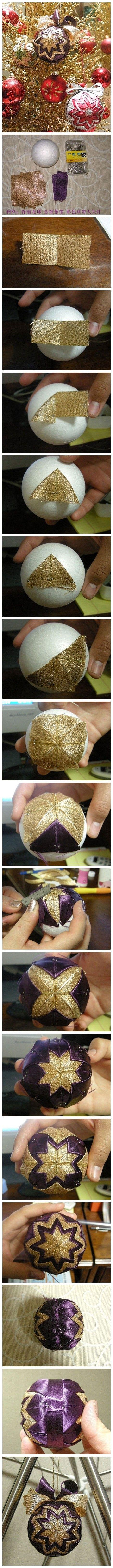 制作圣诞节挂饰,快来动手做一个吧~~Making Christmas ornaments, a bar ~~ Come DIY