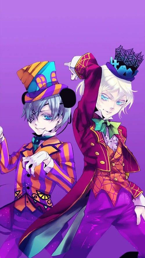 I ship these to so hard even though Ciel is my husbando. But still. They are so perfect for each other!!