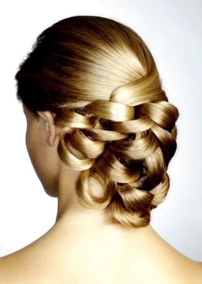 Bride's sleek elegant looped French chignon bridal hair  Toni Kami Wedding Hairstyles ♥ ❷ Gorgeous wedding hairstyle
