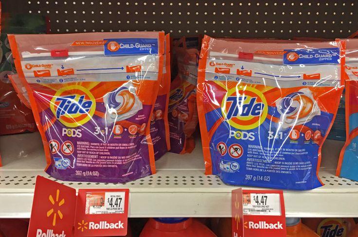 Sunday Coupon Deals at Walmart: Cheap Tide Pods & Gain Flings!