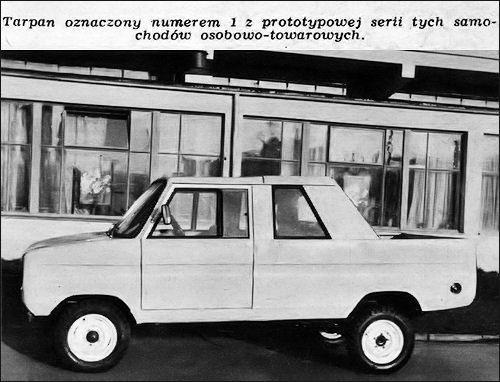 OG | 1973 FSO Tarpan | Prototype no.1