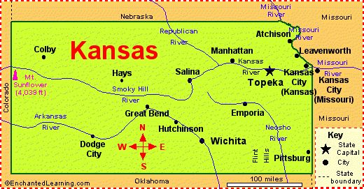 P Kansas Outline Map With Rivers And Cities TRACE THIS On A - Map of cities in missouri
