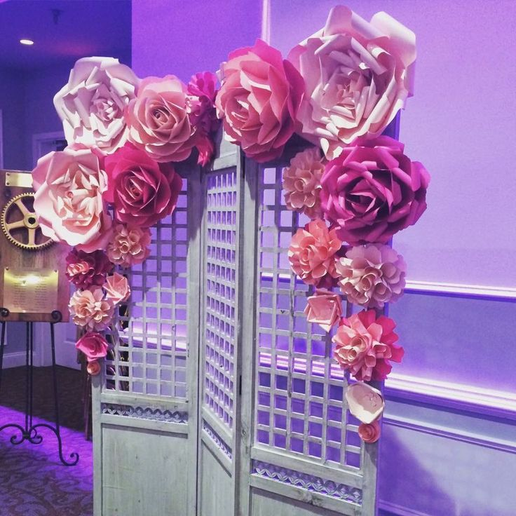 Paper Flowers Backdrop Giant Paper Flowers Wall Paper