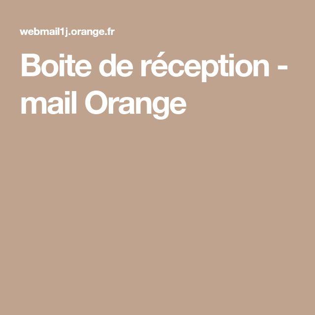 Boite de réception - mail Orange