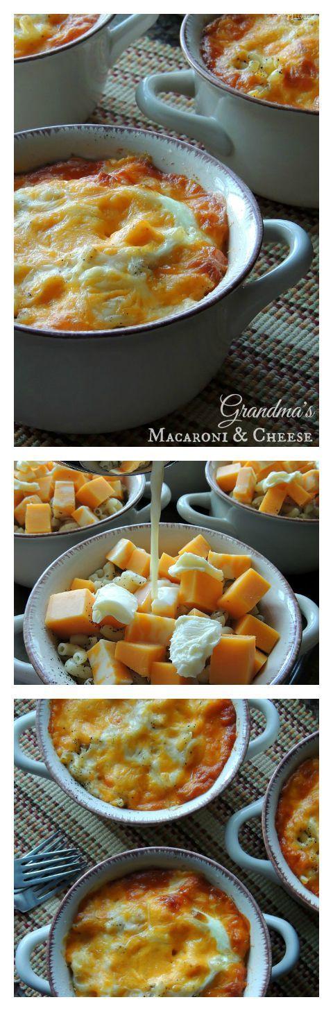 A Family Favorite - Grandma's Homemade Macaroni & Cheese Recipe