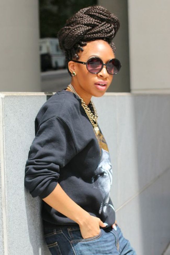 60 best Box Braids images on Pinterest | African braids, Box ...