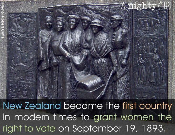 Image result for when did new zealand let women vote