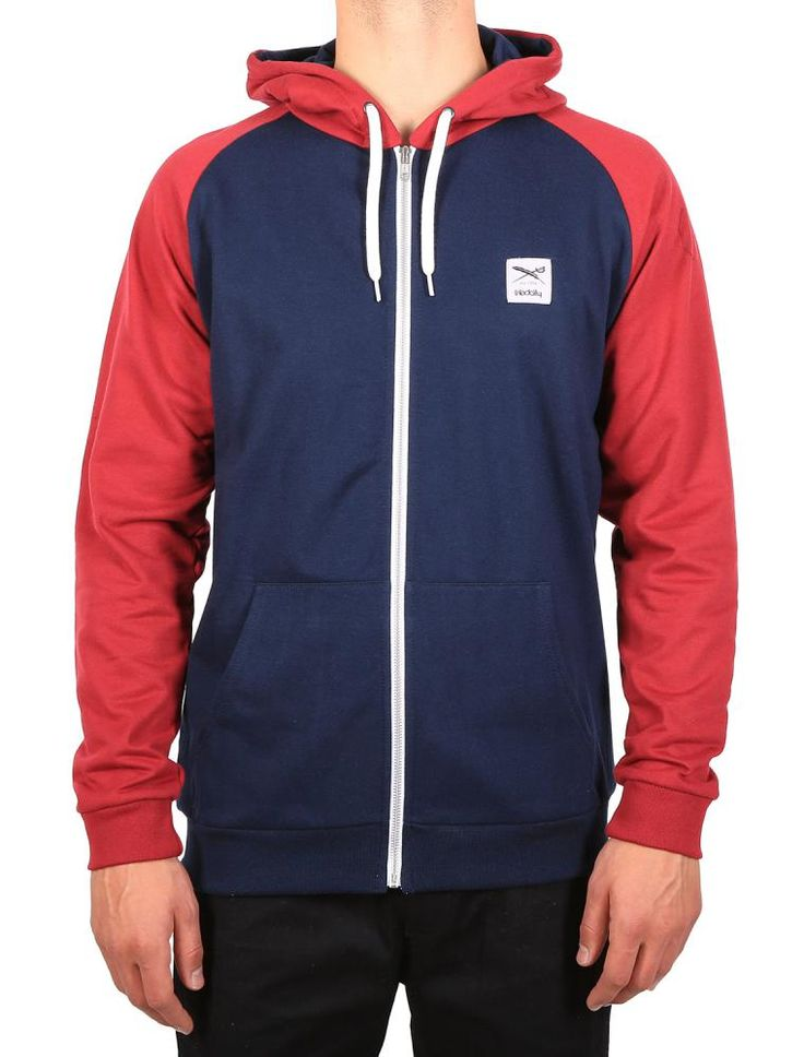 De College Zip Hood [navy red] *** IRIEDAILY SPRING SUMMER COLLECTION 2016 – MY CITY MY RULES – OUT NOW: https://www.iriedaily.de/blog/iriedaily-spring-summer-collection-2016-my-city-my-rules-out-now/