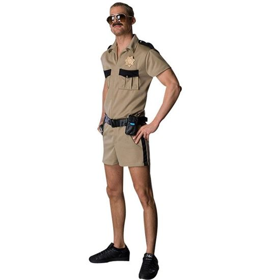 Discount Halloween Costumes: Reno 911 Lt. Dangle Adult Costume, Size: Standard (One-Size)