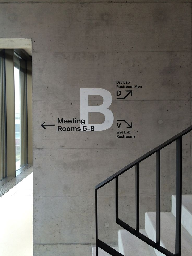 Medical Campus Signage - English