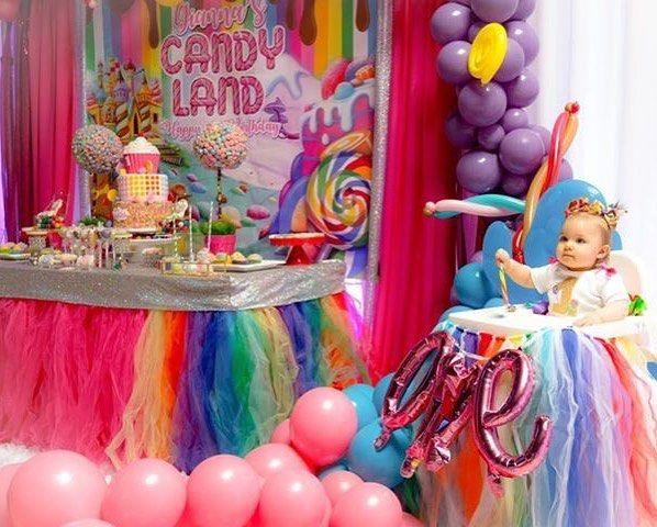 Candyland 1st Birthday Candyland Candylandtheme Candylandparty Candyparty Venue Candy Theme Birthday Party Candy Birthday Party Candyland Birthday