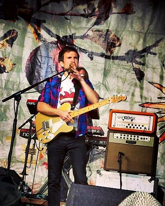 2011 Wickerman Festival #IrwinSparks #frontman #vocals #guitar #TheHoosiers #band #festival #Wickerman #Scotland