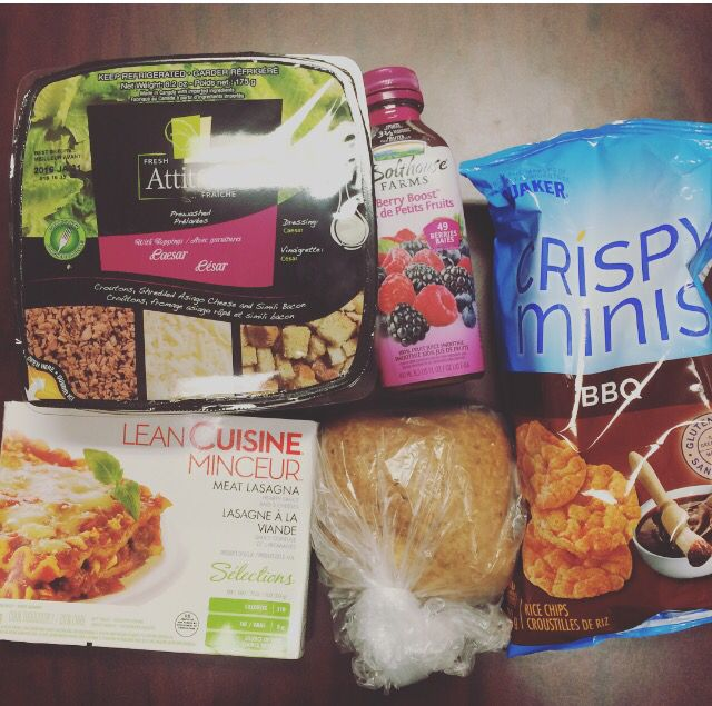 $10 budget. When I had to buy lunch/snacks and I went to the grocery store in the morning and grabbed a few kinda sorta  maybe healthy items. Blogged. I did it twice, lol.!