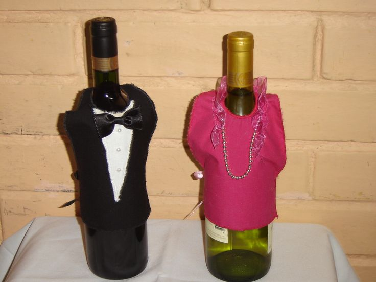 12 best images about vestidos para botellas on pinterest - Botelleros de vino ...