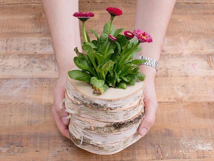 Ber ideen zu baumscheiben deko auf pinterest for Blumentopf dekorieren anleitung