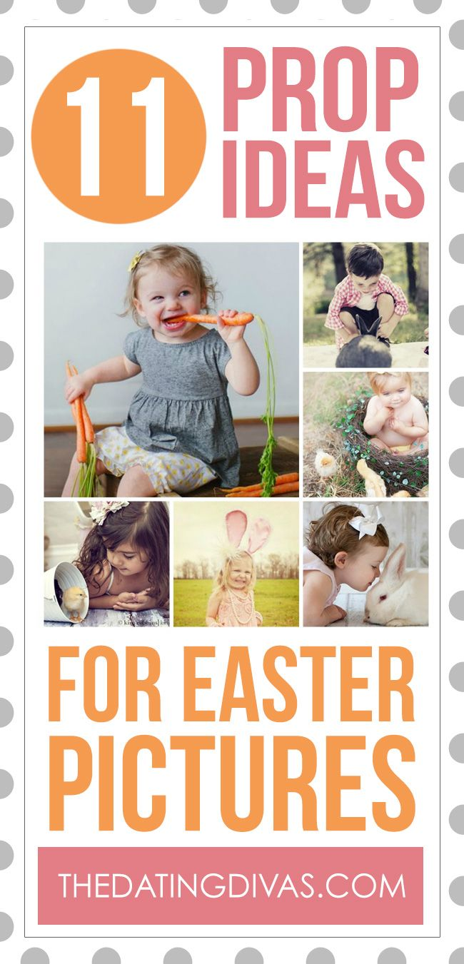 TONS of cute Easter picture ideas!