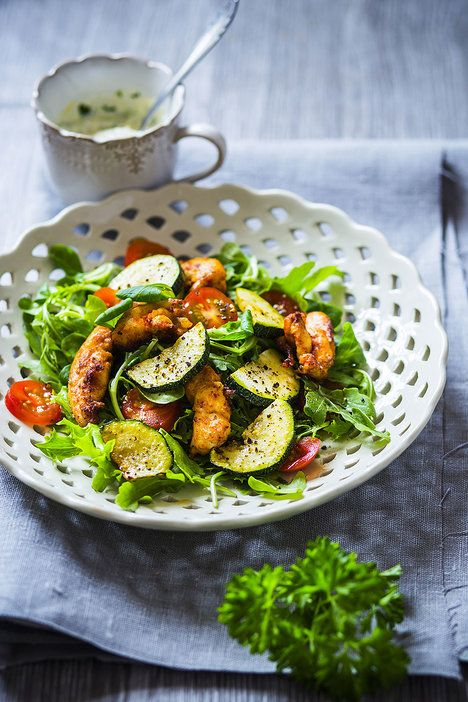 Kuře v kombinaci se zeleninou nikdy nezklame; David Háva
