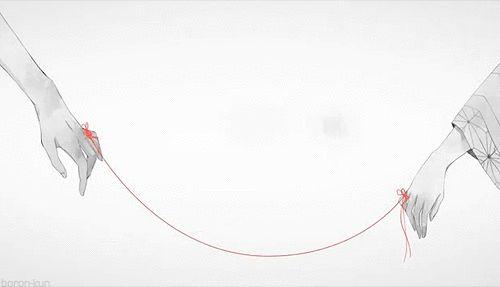 La leyenda del hilo rojo del destino [Especial Japón] | Dorito Coreano - the legend of red thread destiny symbol