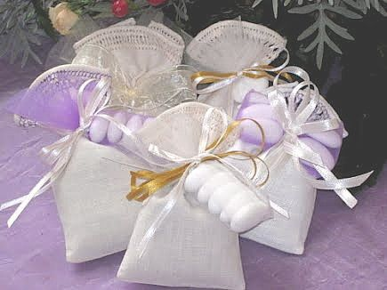 Sacchetti bomboniere per matrimoni e feste,segnaposto matrimoni.Matrimonio a tema lavanda.: Bomboniera alla lavanda, bomboniere per matrimonio