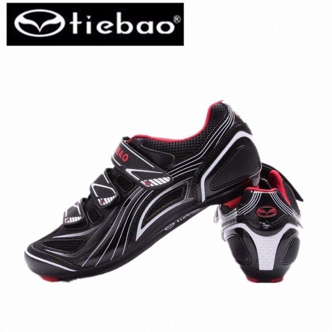 Tiebao Riding Road Bike Shoes Self-Locking Breathable Bike Bicycle Shoes Sapatilha Ciclismo Zapatillas