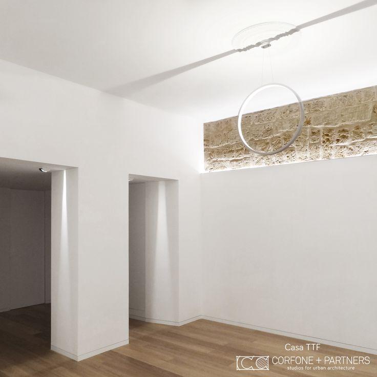 CORFONE+PARTNERS - Interior design Living Room - TTF HOUSE