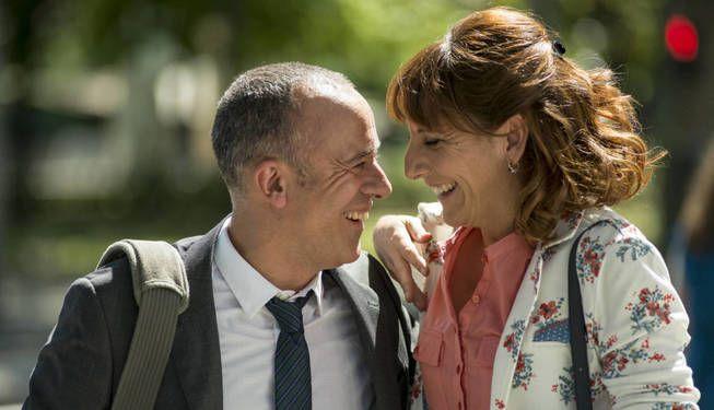 Los protagonistas de 'Vergüenza' en Movistar .
