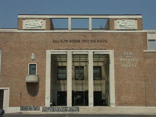 Дом инвалидов войны в Равенне, 30-е годы