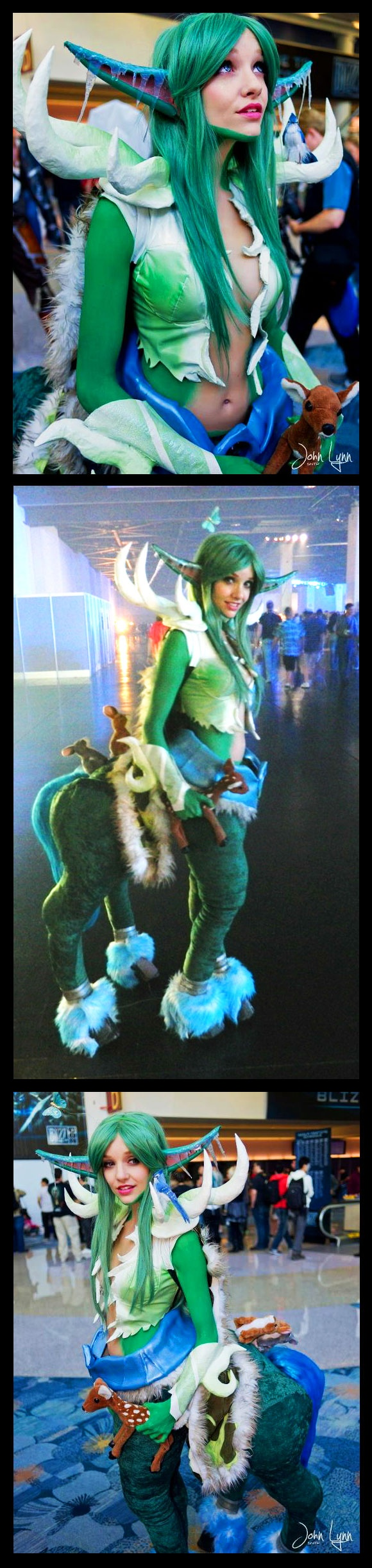 Lyz Brickley won 4th Place @ 2011 BlizzCon for this Mylune cosplay, World of Warcraft!