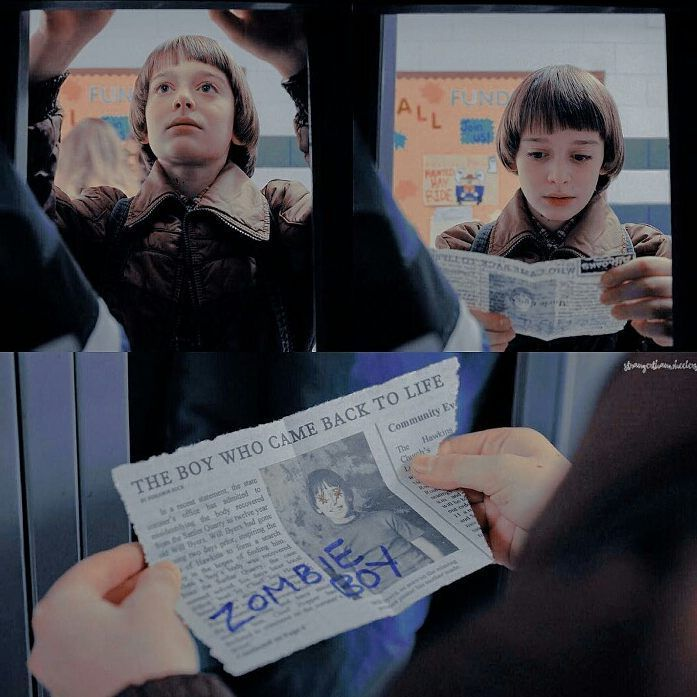 Just leave this poor kid alone i bet none of those shitty people could have survived in the upside down!!!! love you will <3