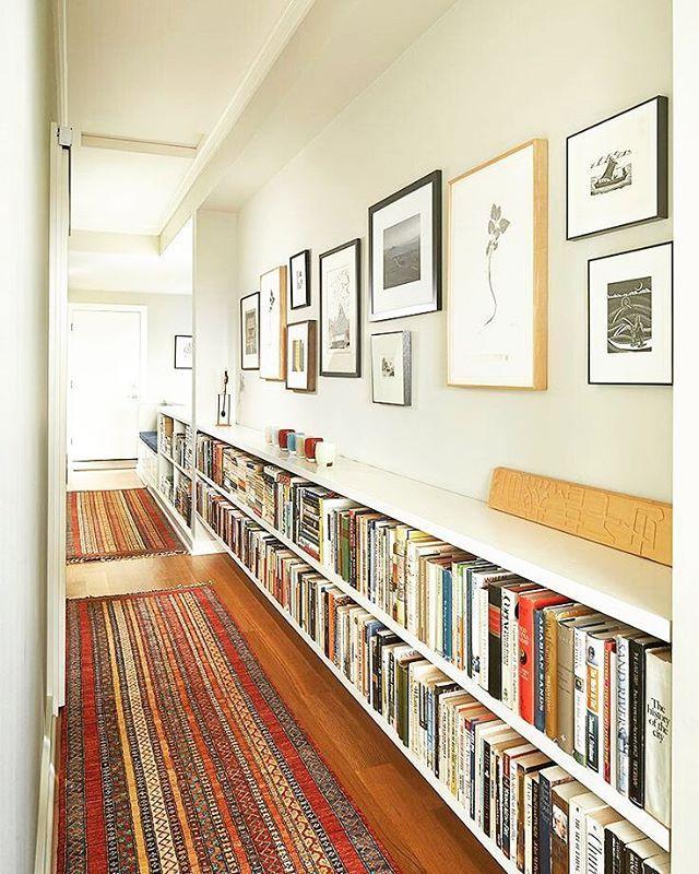 Small Narrow Art Room Living Room Design: Best 25+ Narrow Bookshelf Ideas On Pinterest