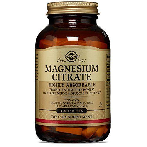 Solgar – Magnesium Citrate, 120 tablets: Solgar Magnesium Citrate fournit citrate de magnésium à 100%, une forme hautement absorbable de…