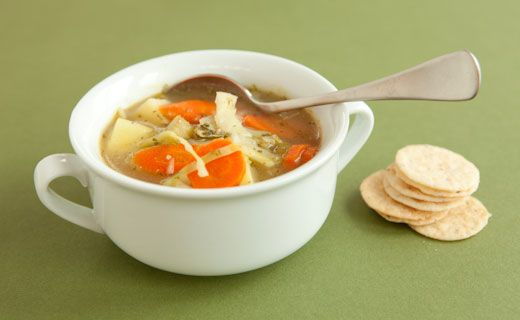 Epicure Potato and Cabbage Soup