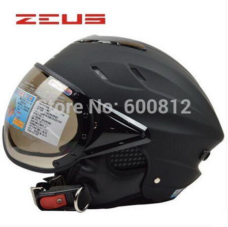 Мода ZEUS 125B ABS пол-лица Мотоциклетный шлем мотоциклетные шлемы мода лето электрический велосипед шлемы УФ персонализированные