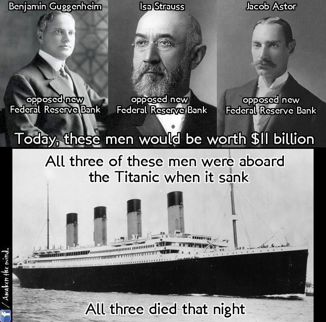 Who owns the federal reserve? Not government. Who set up and benefits considerably via the federal reserve? Is  the 'federal reserve' part of the 'New World Order'? Who would have benefited from the death of these men? Who killed Tesla and why? Which families have the greatest wealth in the world?