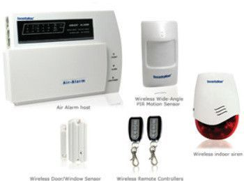 d.i.y. wireless home alarm system kit