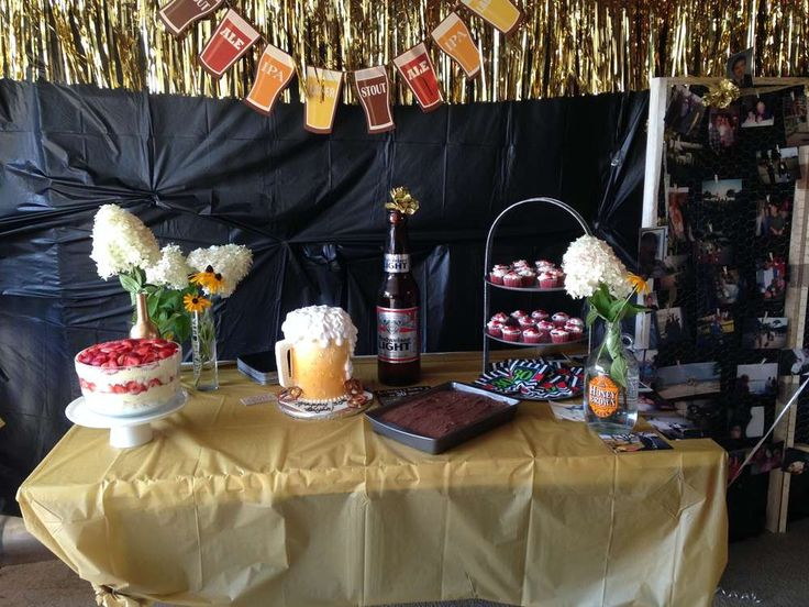 18 best Anibal\'s Beer Birthday party ideas images on Pinterest ...