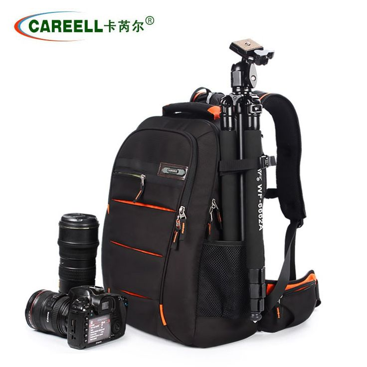 Wholesale prices US $67.10  Fast Shipping Waterproof Camera Bag Camera Case for Canon Nikon Adjustable Cameras Bag Backpack For Traveling Explosion-proof  Search here: Laptop