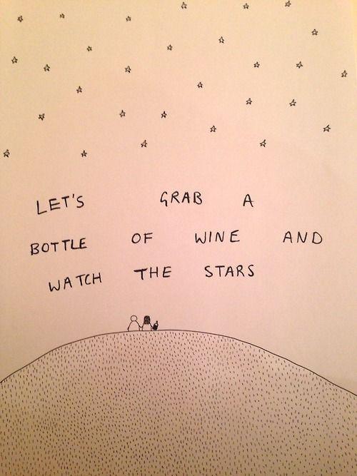 My kind of star gazing