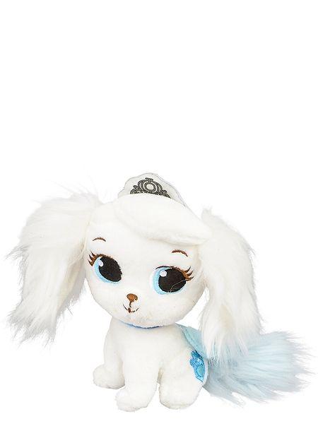 Palatsin pallerot, Pinja-pehmo (17 cm)   Tuhkimon Pinja-koira pitää tanssimisesta. Pehmolelun korkeus on 17 cm.