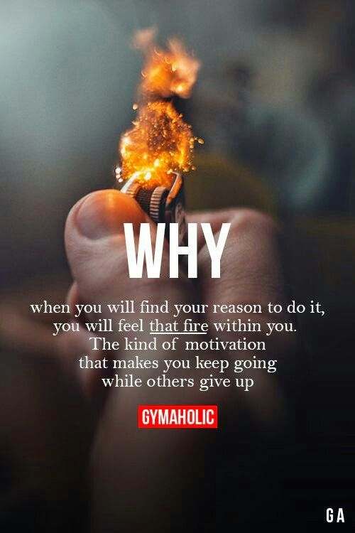 That fire within you. Never give up !