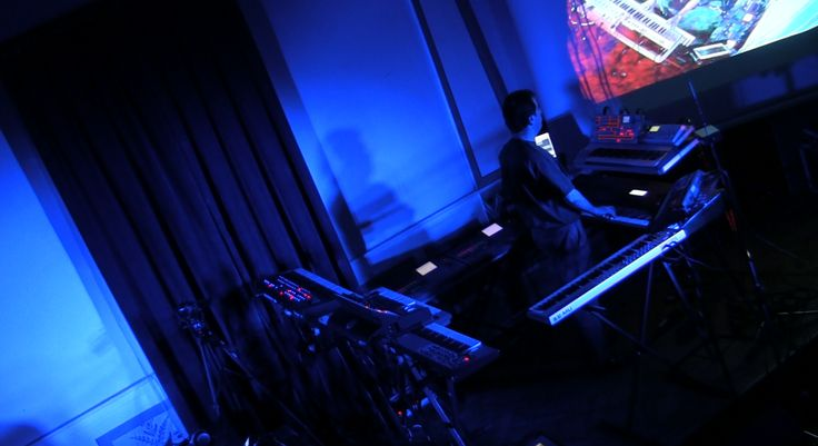 Alba Ecstasy & Nord: Live at the Library. Nord playing the Kurzweil K2500X.