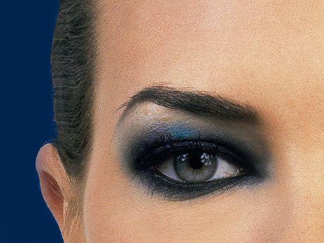 dark eyeshadow