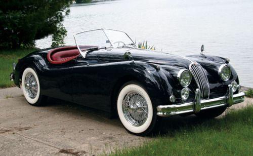 Jaguar 1956 XK140 MC Roadster #jaguar #cars #vintage #luxury #roadster #classic #british #auto #bennettjlr #allentown #pennsylvania