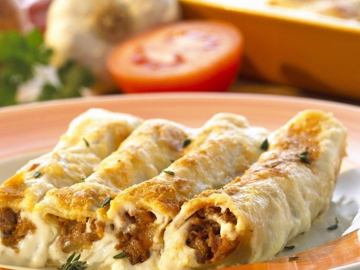Hackfleisch-Cannelloni - smarter - Zeit: 40 Min. | eatsmarter.de