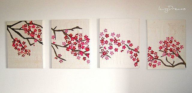 Cherry Blossom Art Wow To Go Along With The Soda