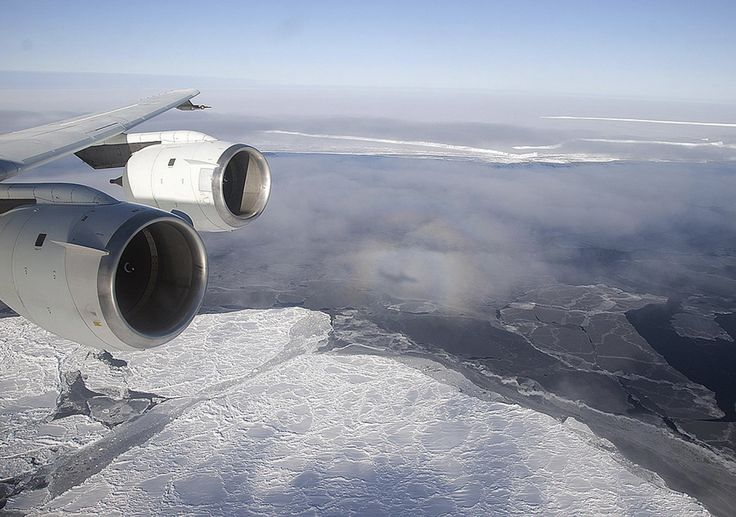 Antarctica's floating ice shelves, the doorstop of the continent, are melting away