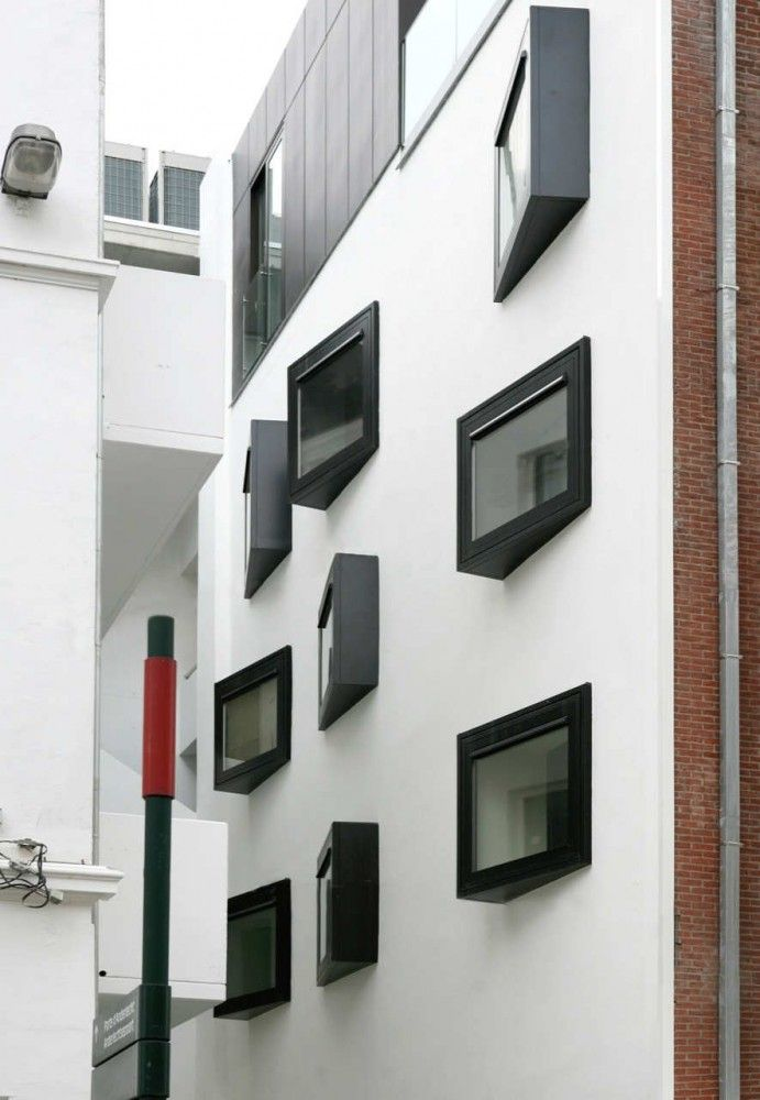South Facade - with living wall all around them! http://www.pinterest.com/emmagangbar/boards/